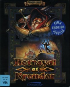Betrayal at Krondor cover